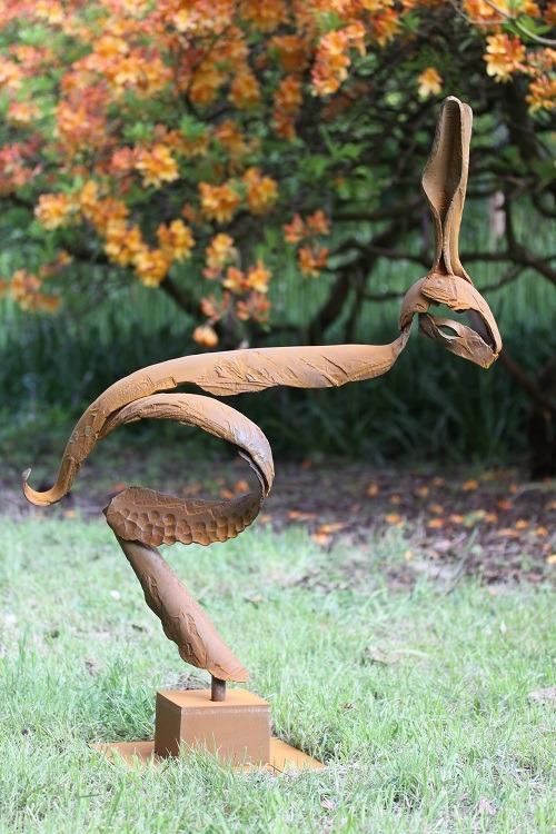 Calnan Anhoj Big Hare Corten Sculpture 1